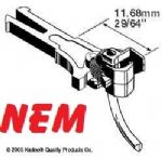 Kadee 20 NEM362 European Coupler Extra Long 11.68mm (2pr)v